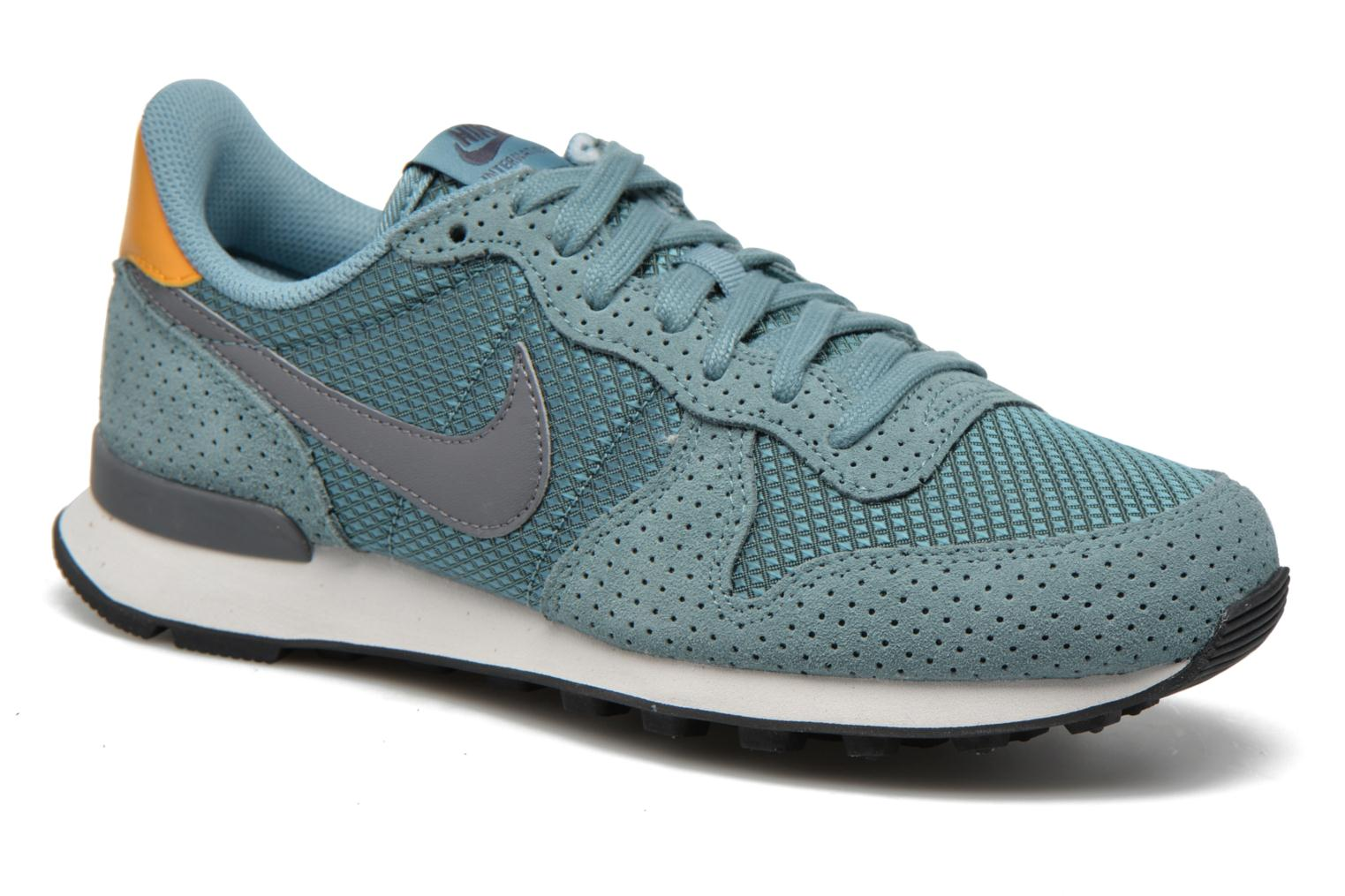 Baskets Nike W Internationalist Prm Bleu vue détail/paire