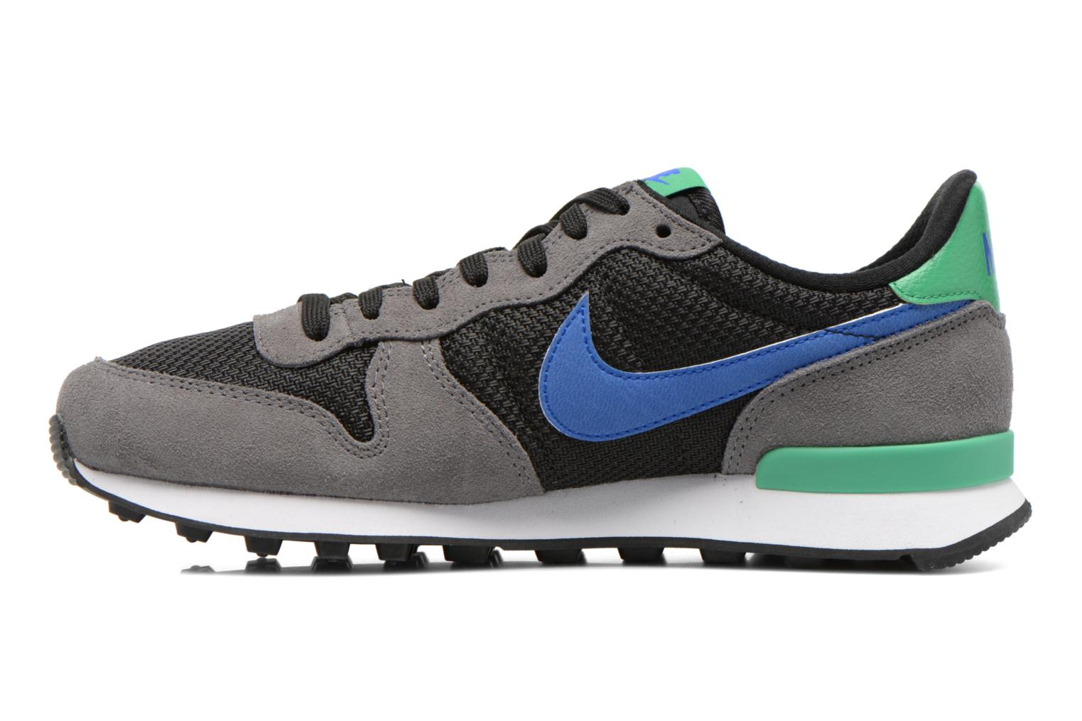 Wmns Internationalist Dark Grey/Racer Blue-Black