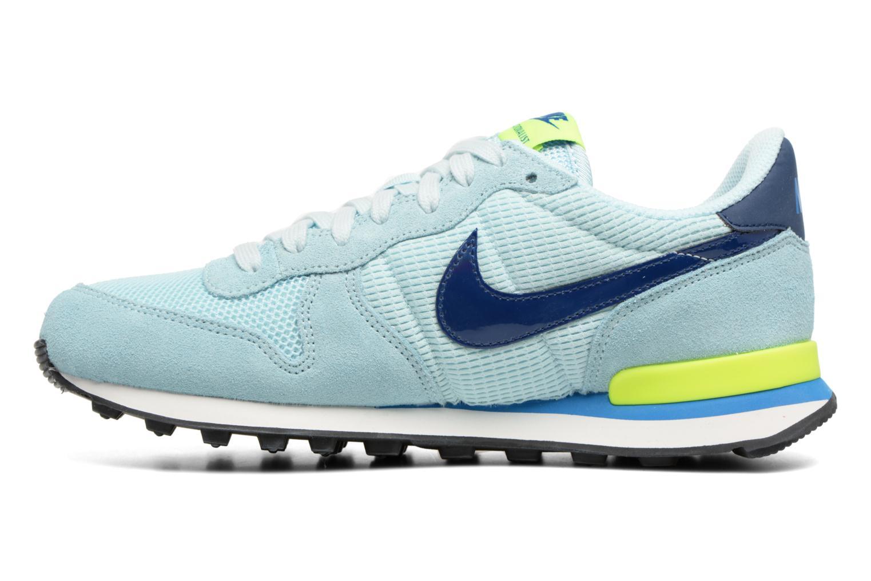 Sneakers Nike Wmns Internationalist Azzurro immagine frontale