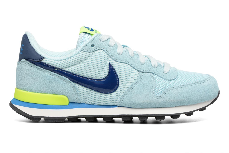 Sneakers Nike Wmns Internationalist Azzurro immagine posteriore
