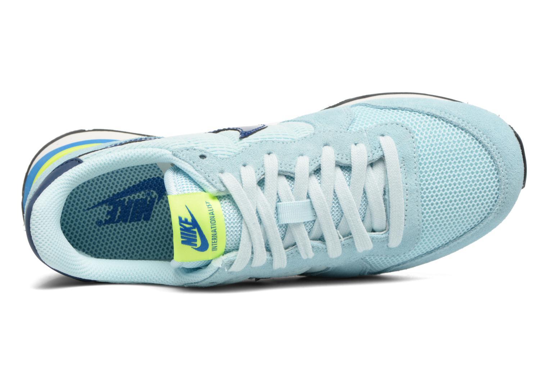 Sneakers Nike Wmns Internationalist Blauw links
