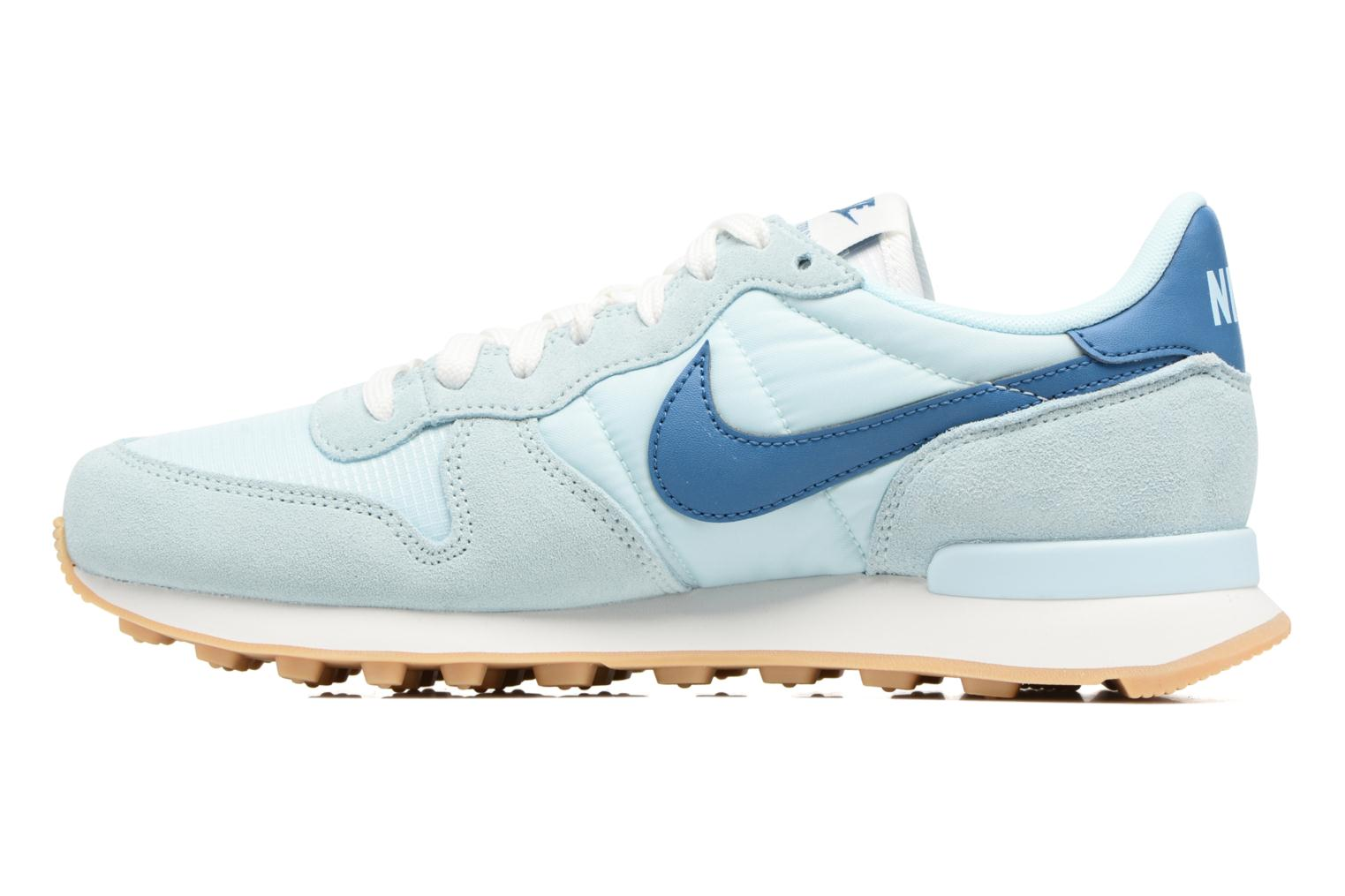Sneakers Nike Wmns Internationalist Azzurro immagine frontale