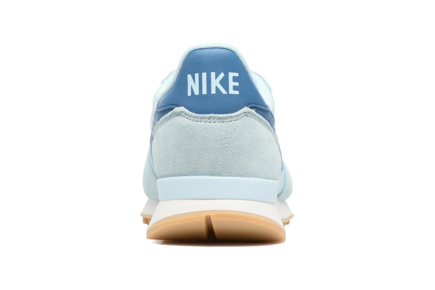 Baskets Nike Wmns Internationalist Bleu vue droite