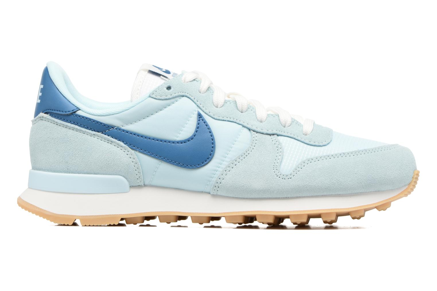 Sneakers Nike Wmns Internationalist Azzurro immagine posteriore