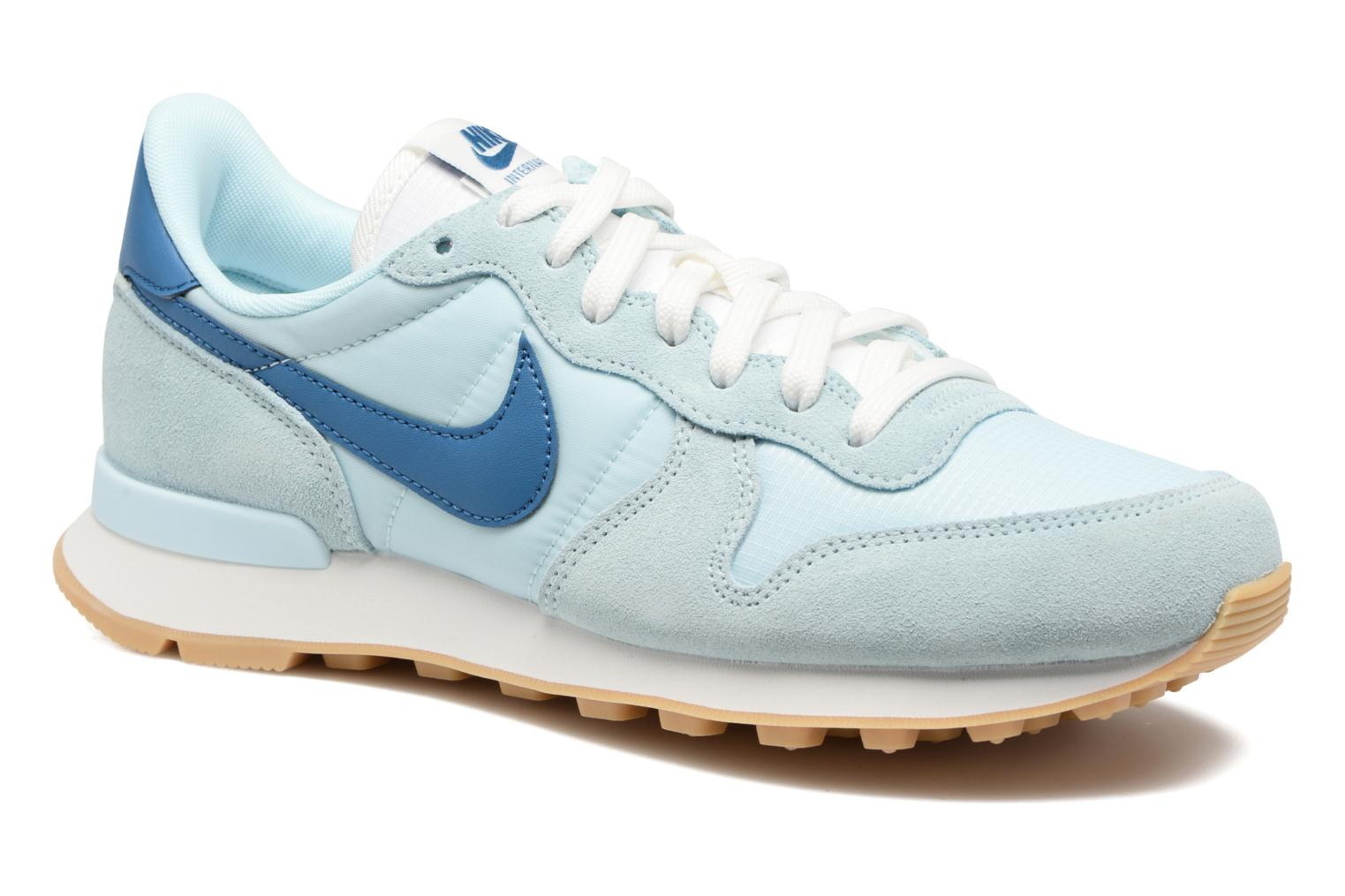 Baskets Nike Wmns Internationalist Bleu vue détail/paire