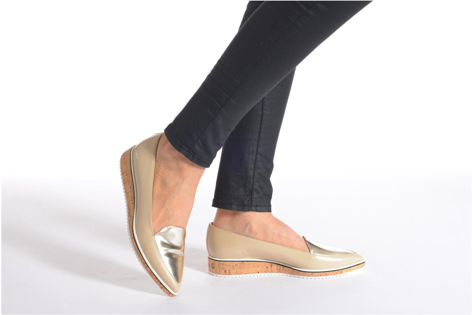 Loafers Fabio Rusconi Dahlia 2 Beige view from underneath / model view
