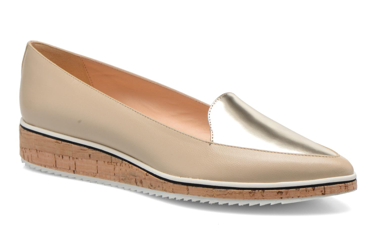 Loafers Fabio Rusconi Dahlia 2 Beige detailed view/ Pair view