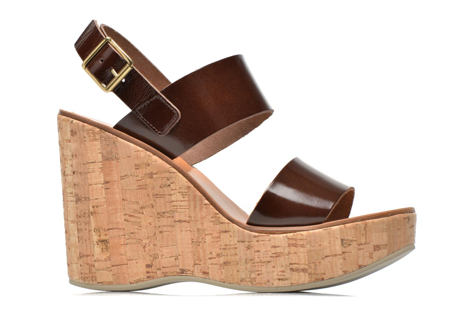 Sandals Fabio Rusconi Lecea Brown back view