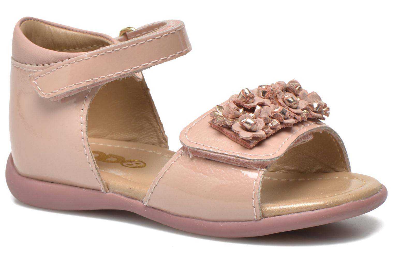 Sandales et nu-pieds Mod8 Gramy Rose vue détail/paire