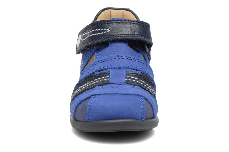 Sandales et nu-pieds Mod8 Louis Bleu vue portées chaussures