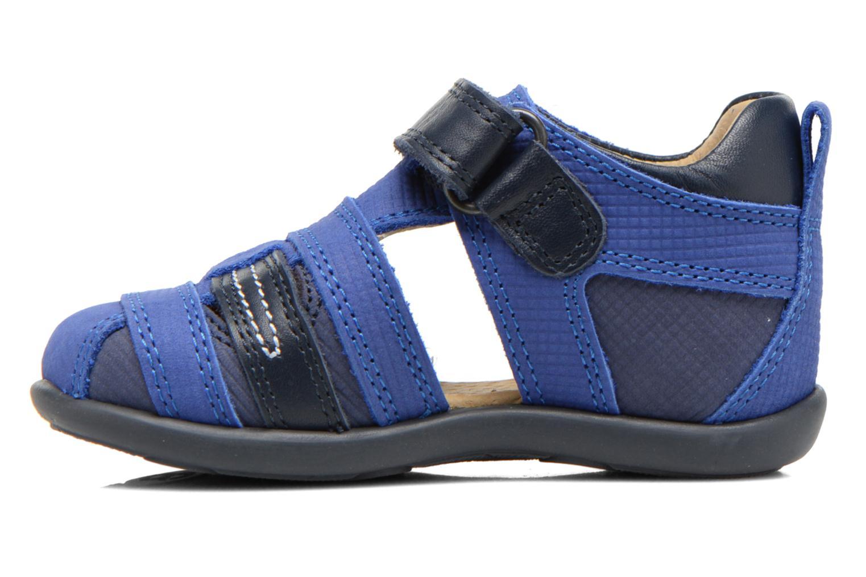 Sandales et nu-pieds Mod8 Louis Bleu vue face
