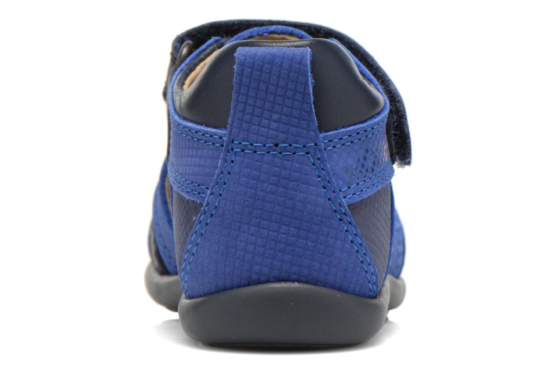 Sandales et nu-pieds Mod8 Louis Bleu vue droite
