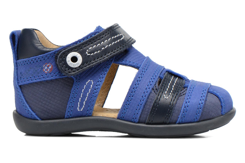 Sandales et nu-pieds Mod8 Louis Bleu vue derrière