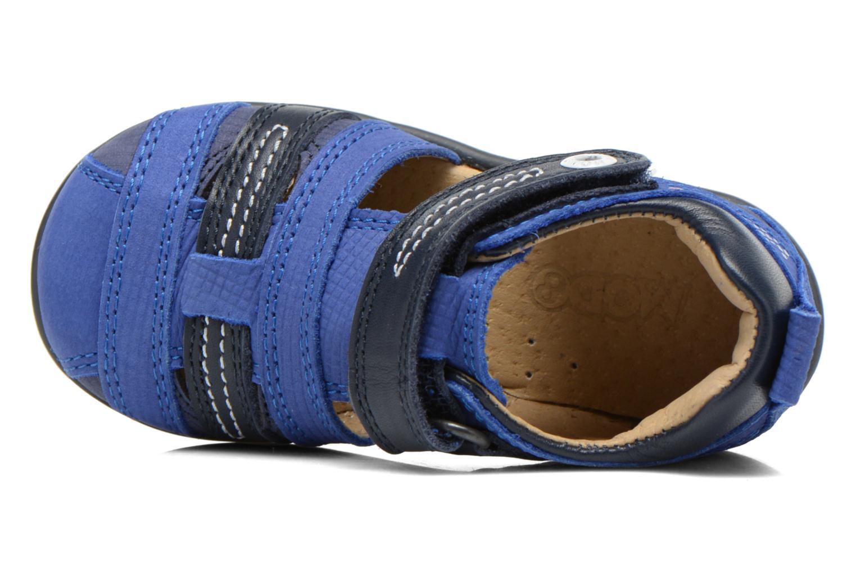 Sandales et nu-pieds Mod8 Louis Bleu vue gauche