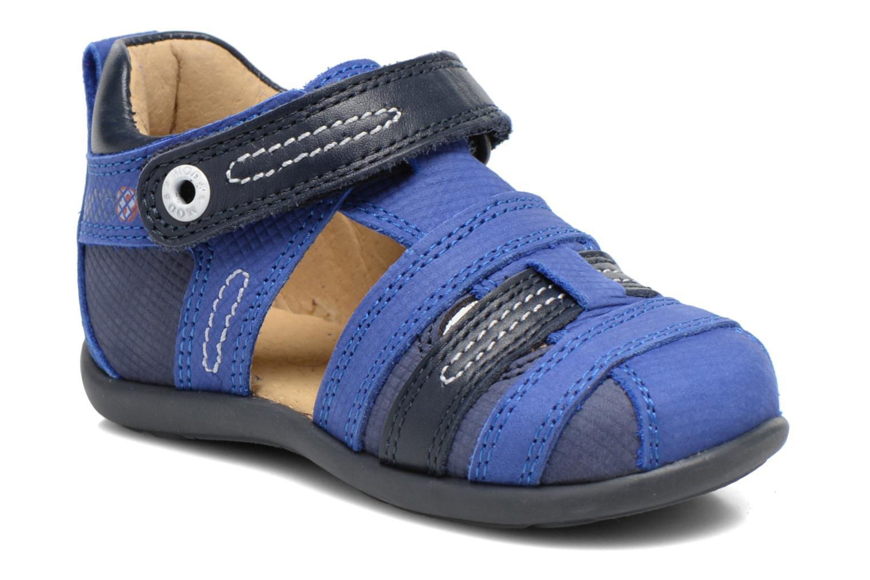 Sandales et nu-pieds Mod8 Louis Bleu vue détail/paire