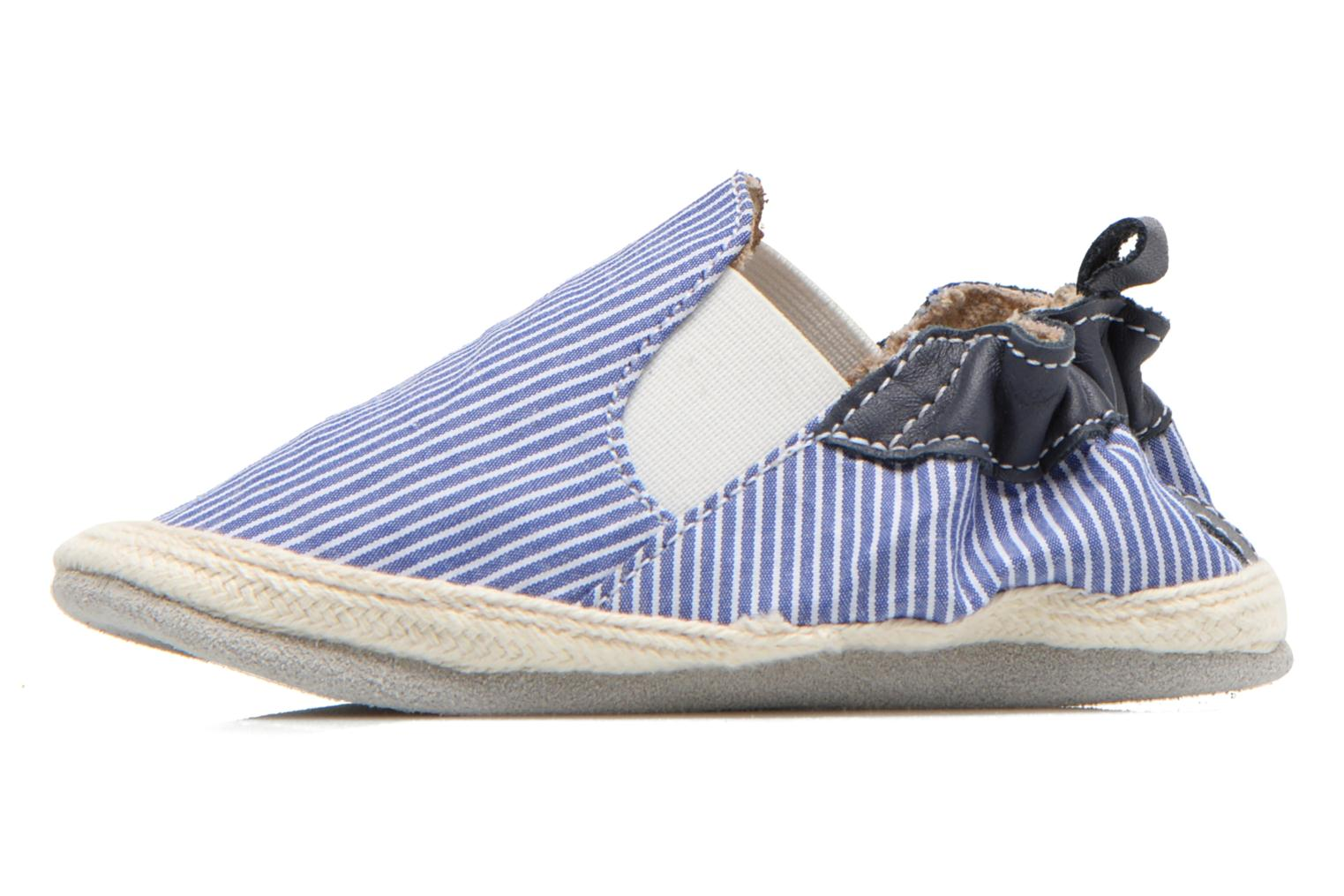 Slippers Robeez Summer Camp Blue front view