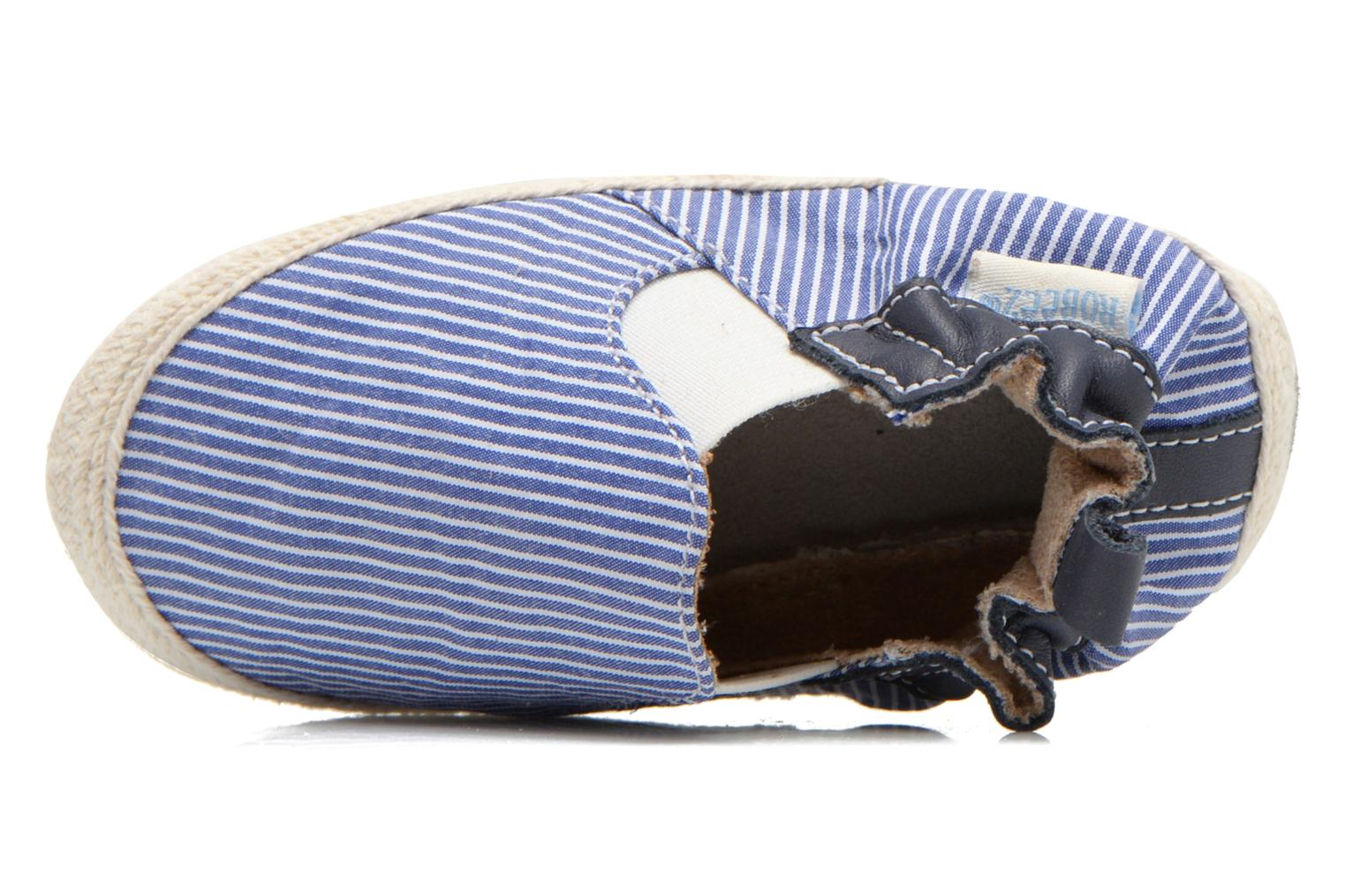 Slippers Robeez Summer Camp Blue view from the left