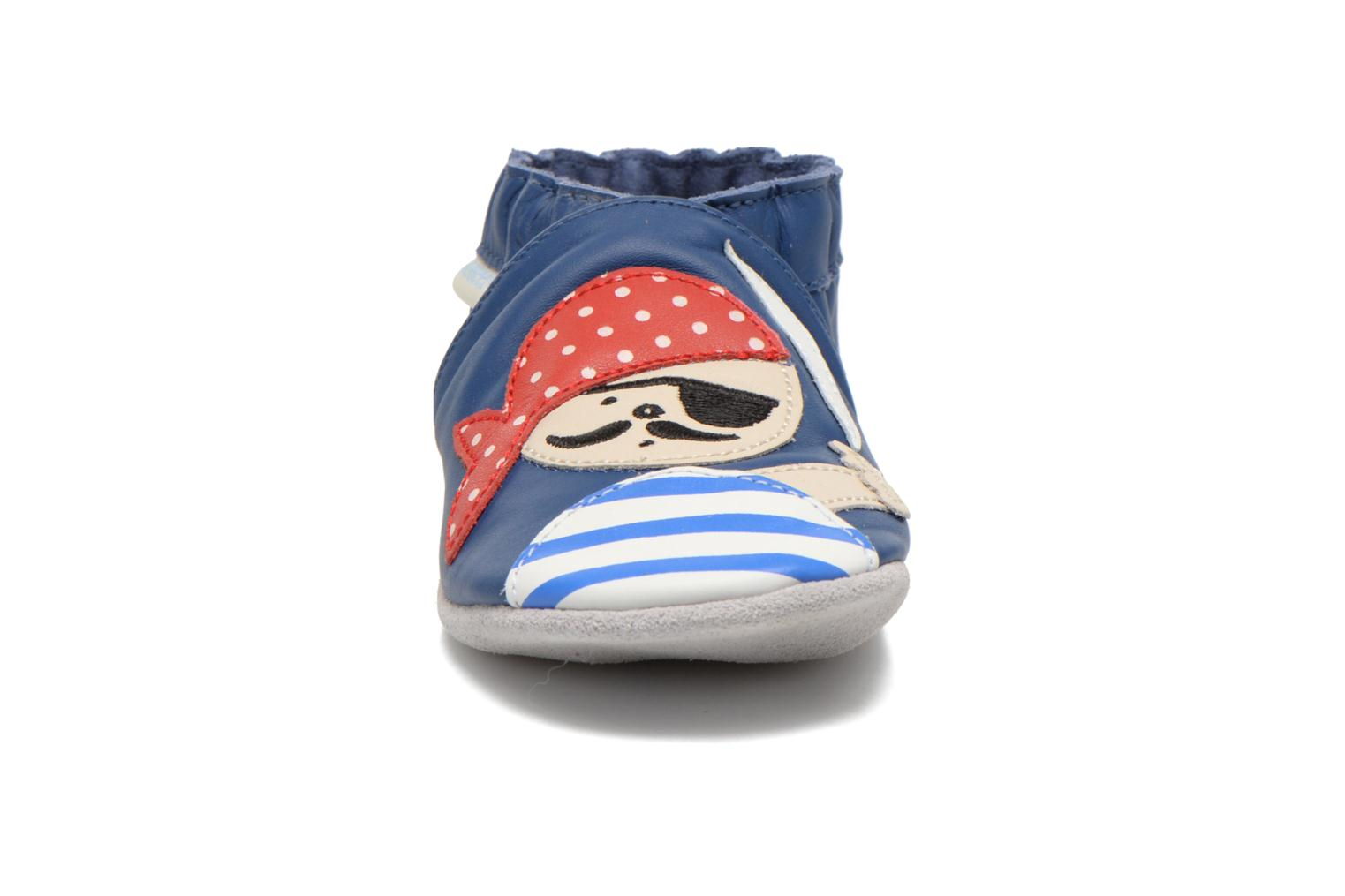 Pantoffels Robeez Jolly Peg Blauw model