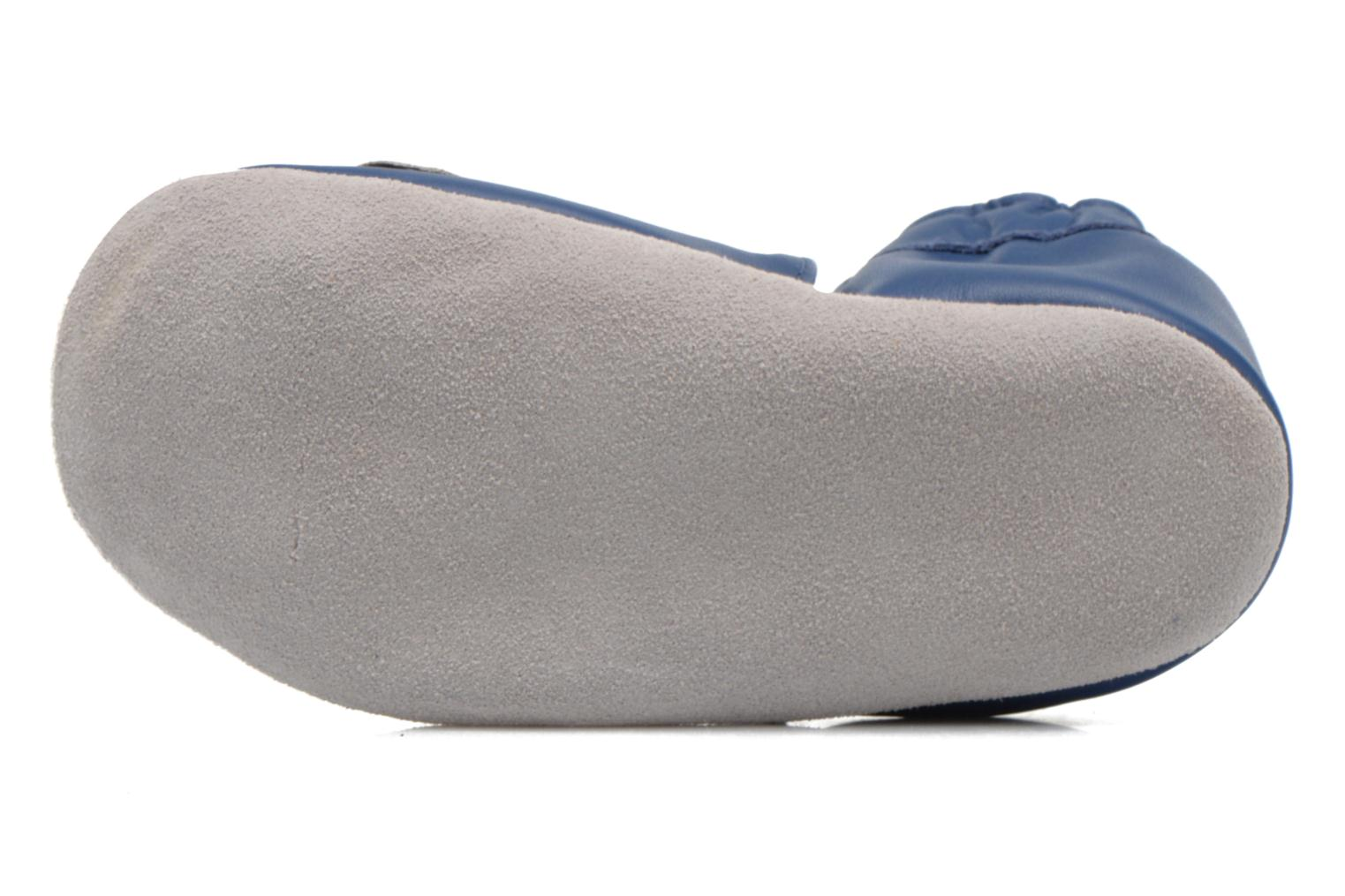 Slippers Robeez Jolly Peg Blue view from above