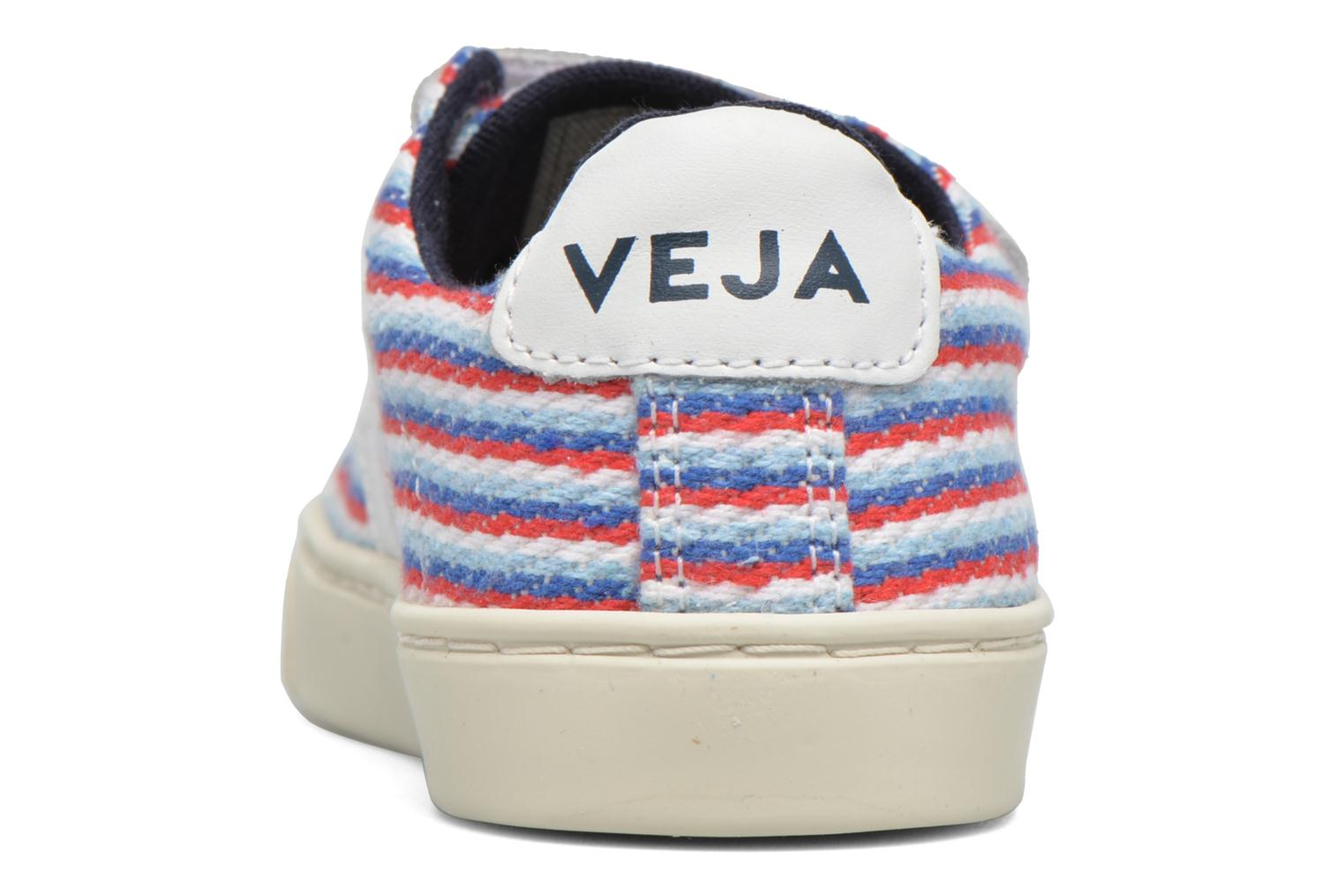 Trainers Veja Esplar Small Velcro Multicolor view from the right