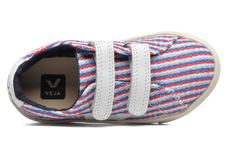 Baskets Veja Esplar Small Velcro Multicolore vue gauche