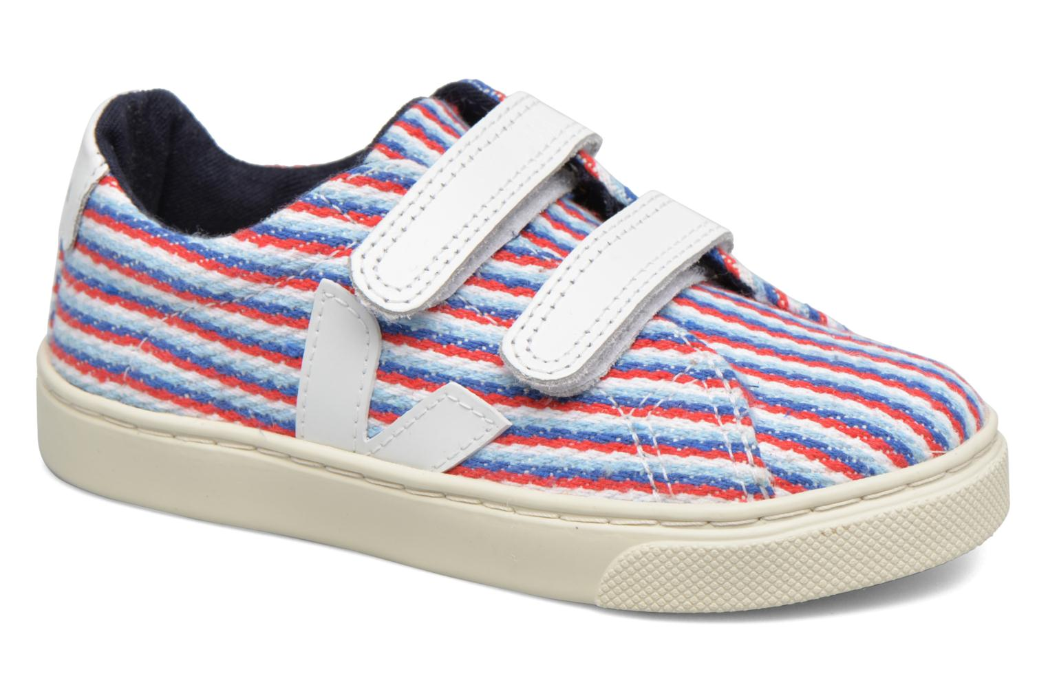 Baskets Veja Esplar Small Velcro Multicolore vue détail/paire