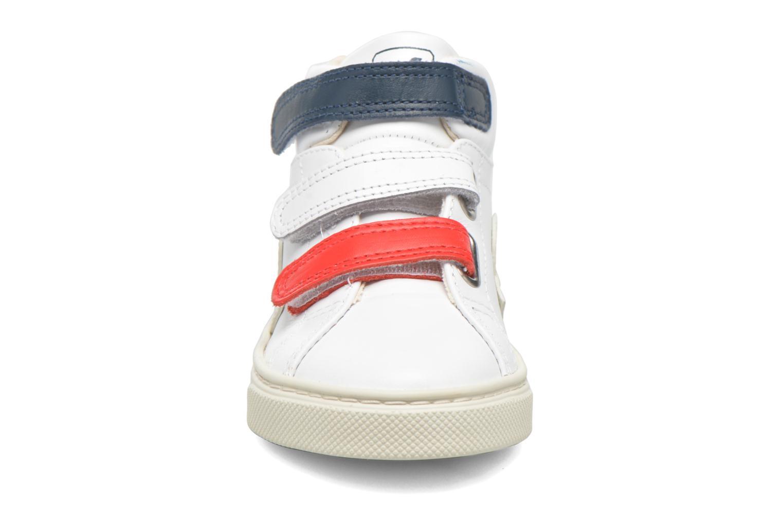 Sneakers Veja Esplar Mid Small Velcro Vit bild av skorna på
