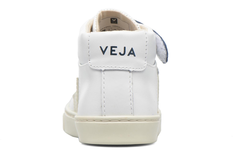 Sneakers Veja Esplar Mid Small Velcro Wit rechts