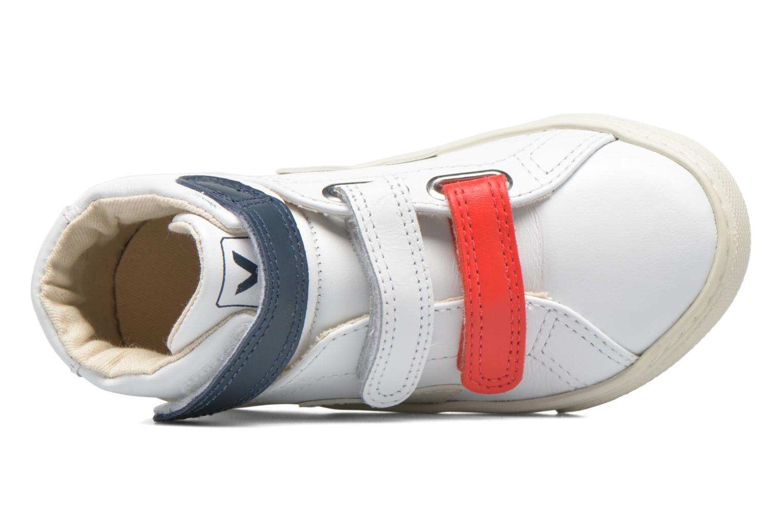 Sneakers Veja Esplar Mid Small Velcro Vit bild från vänster sidan