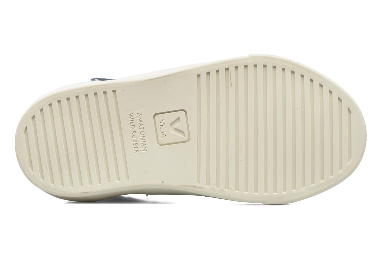 Sneakers Veja Esplar Mid Small Velcro Wit boven