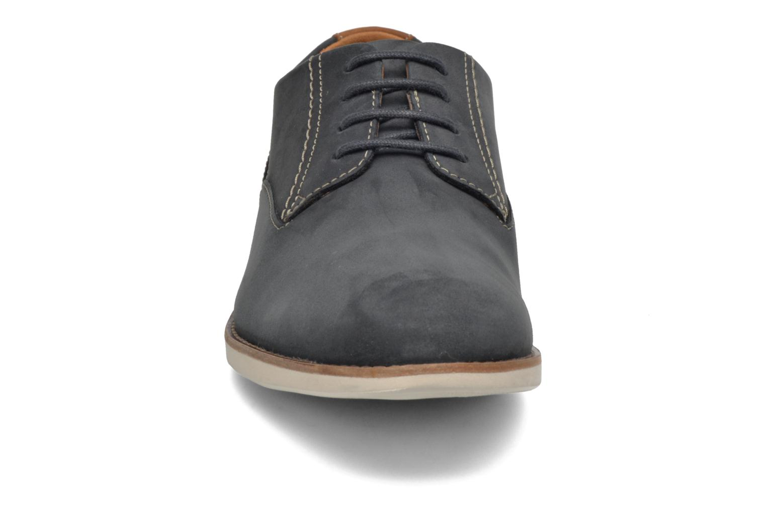 Lace-up shoes Clarks Franson Plain Blue model view