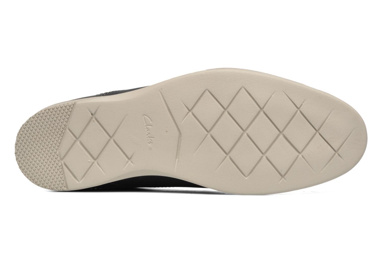 Chaussures à lacets Clarks Franson Plain Bleu vue haut