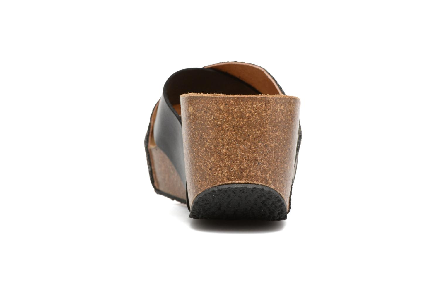 Mules & clogs Plakton So Clip Black view from the right