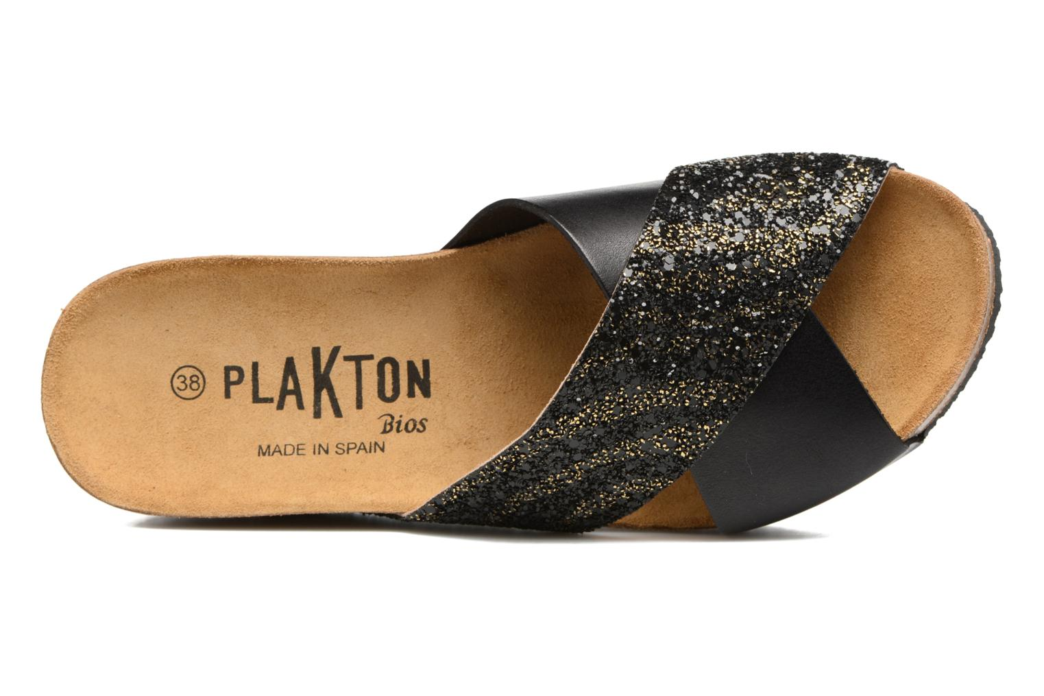Mules & clogs Plakton So Clip Black view from the left