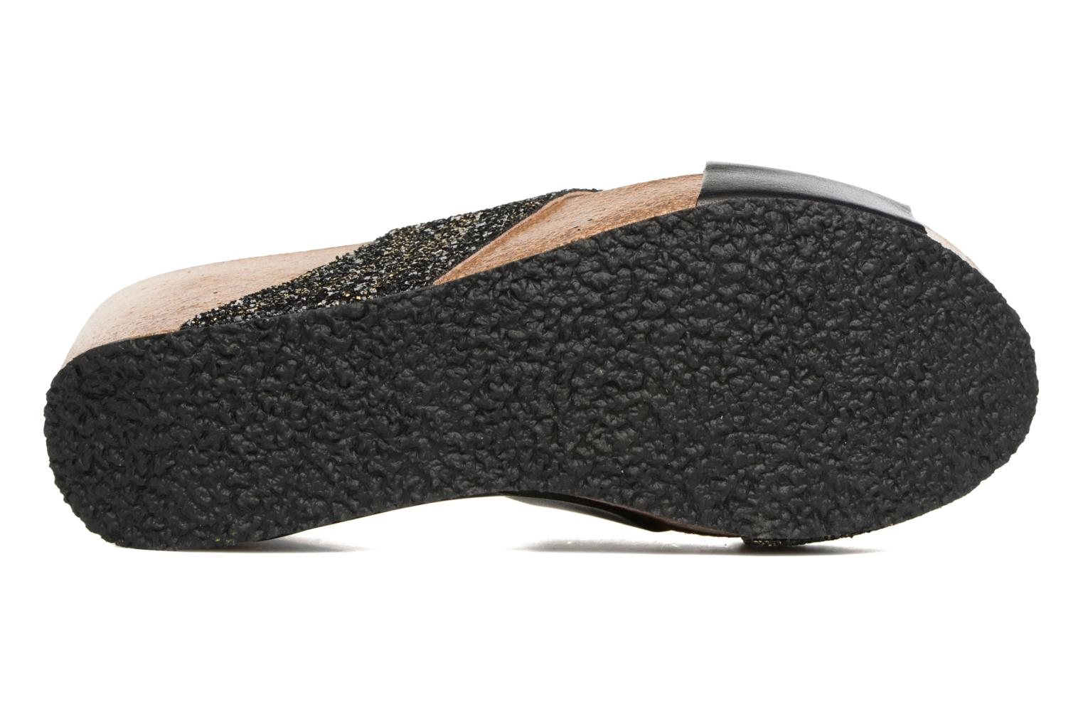 Mules & clogs Plakton So Clip Black view from above