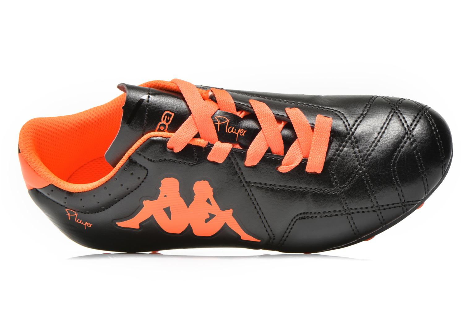Player Fg BLACK ORANGE FLUO