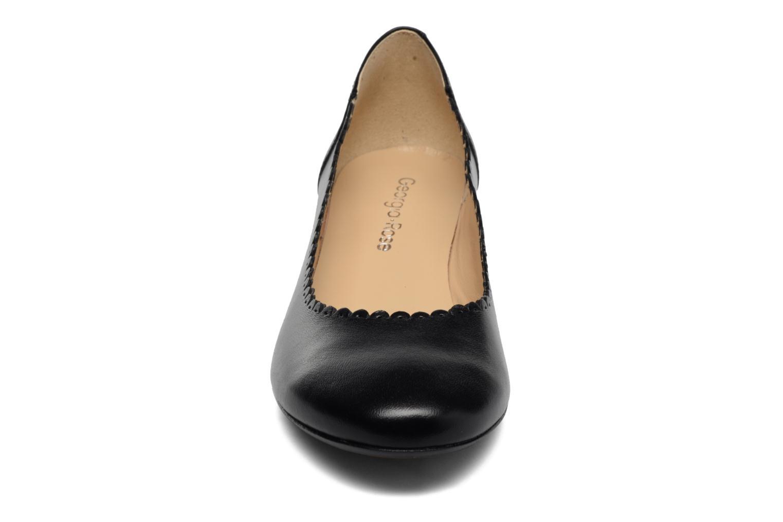 Ballerines Georgia Rose Sabby Noir vue portées chaussures
