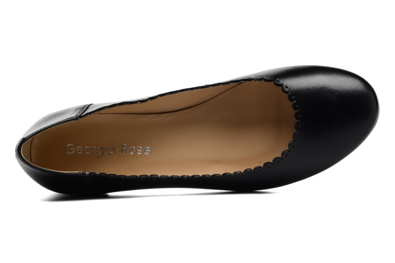Ballet pumps Georgia Rose Sabby Black view from the left
