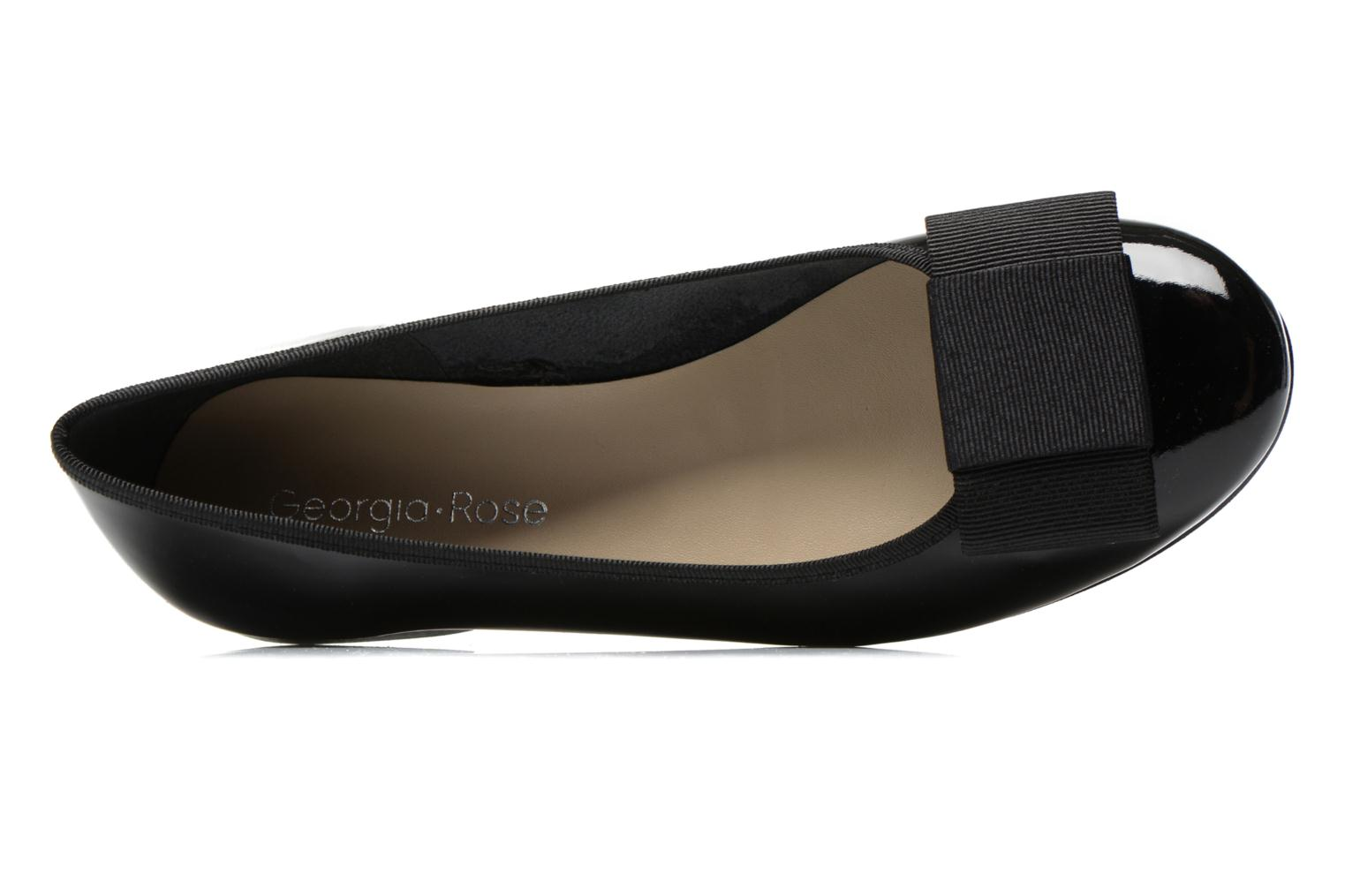 Ballet pumps Georgia Rose Siable Black view from the left