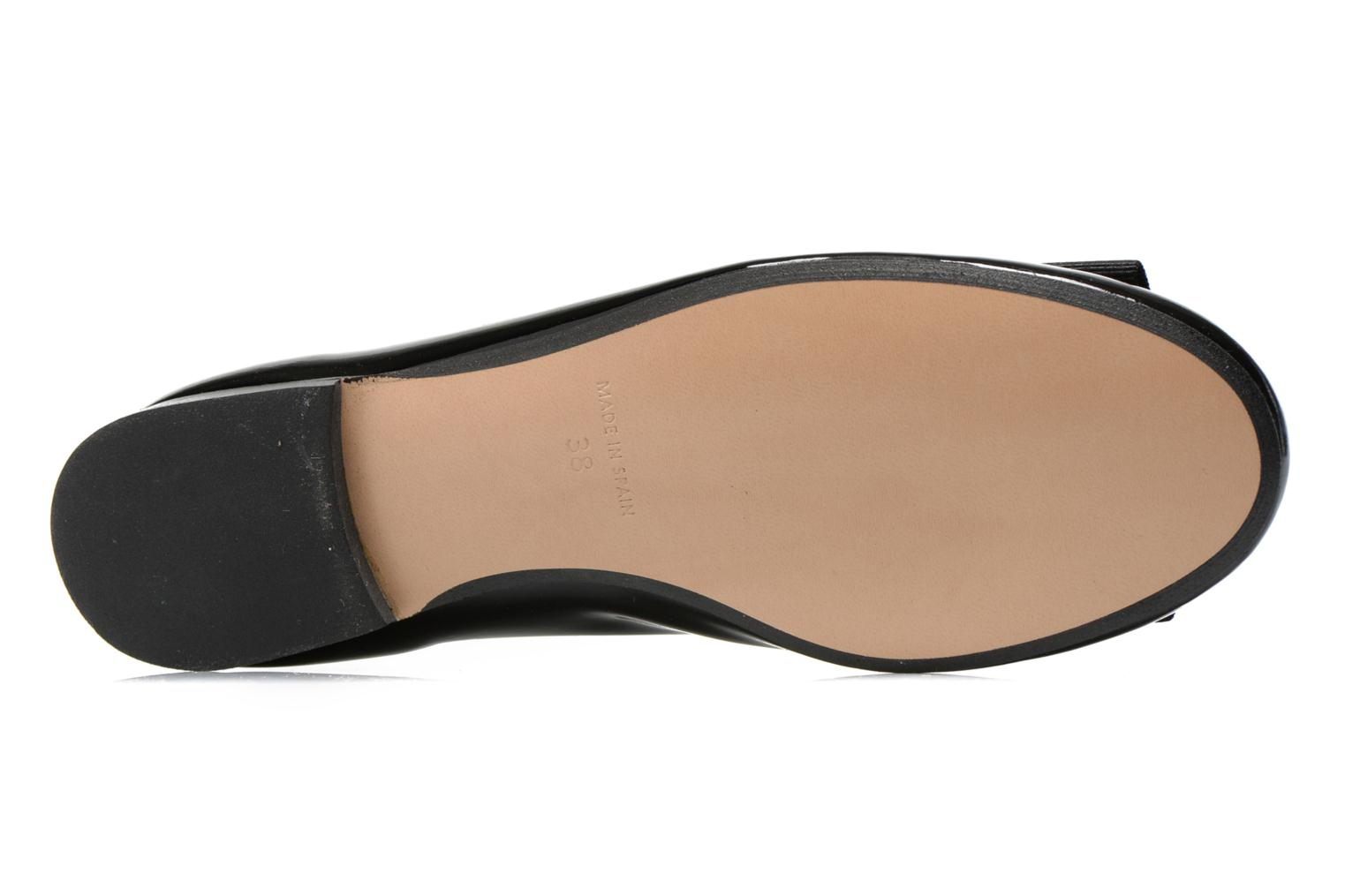 Ballet pumps Georgia Rose Siable Black view from above