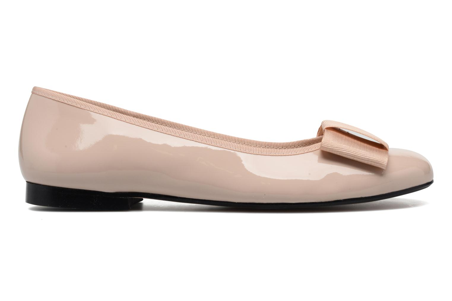 Ballet pumps Georgia Rose Siable Beige back view