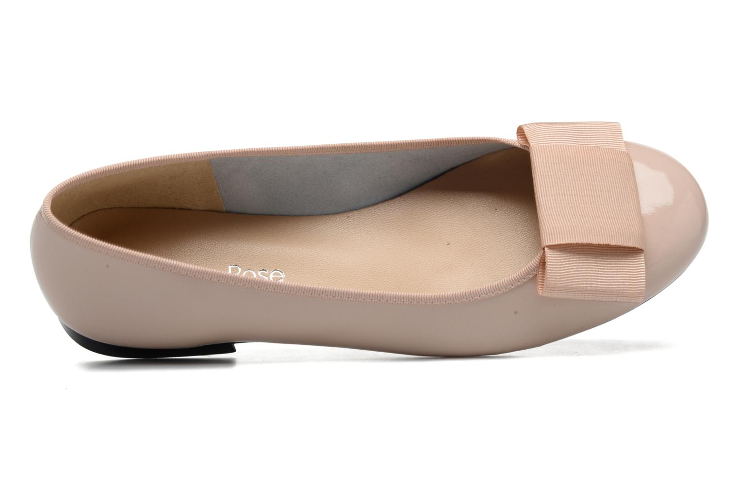 Ballet pumps Georgia Rose Siable Beige view from the left