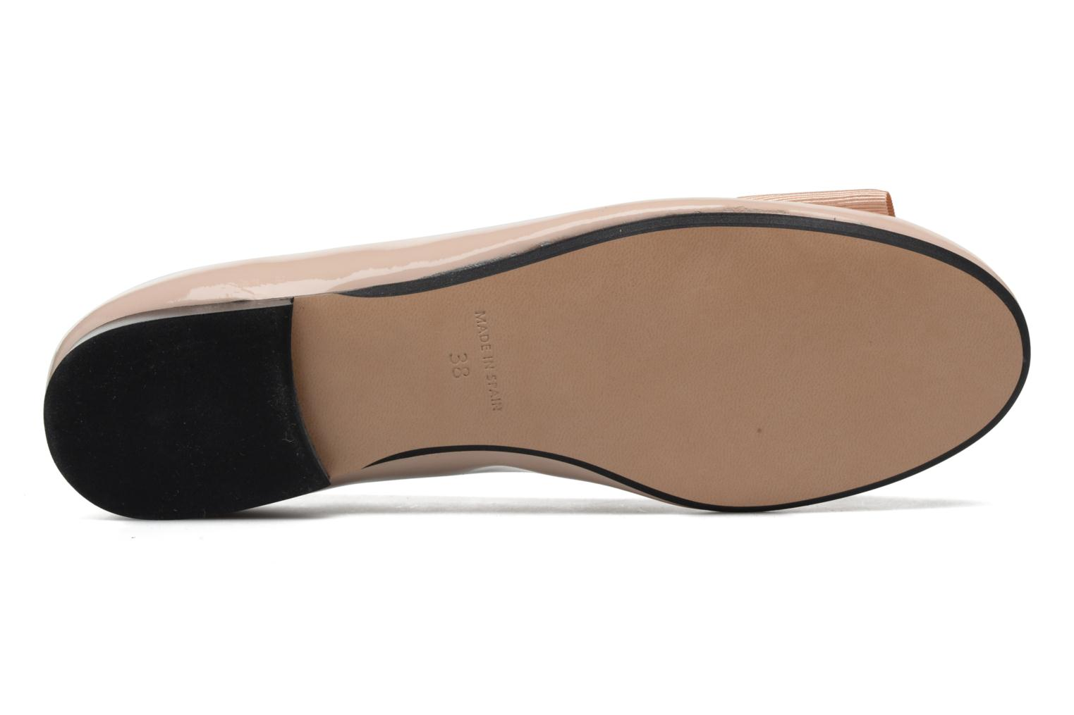 Ballet pumps Georgia Rose Siable Beige view from above