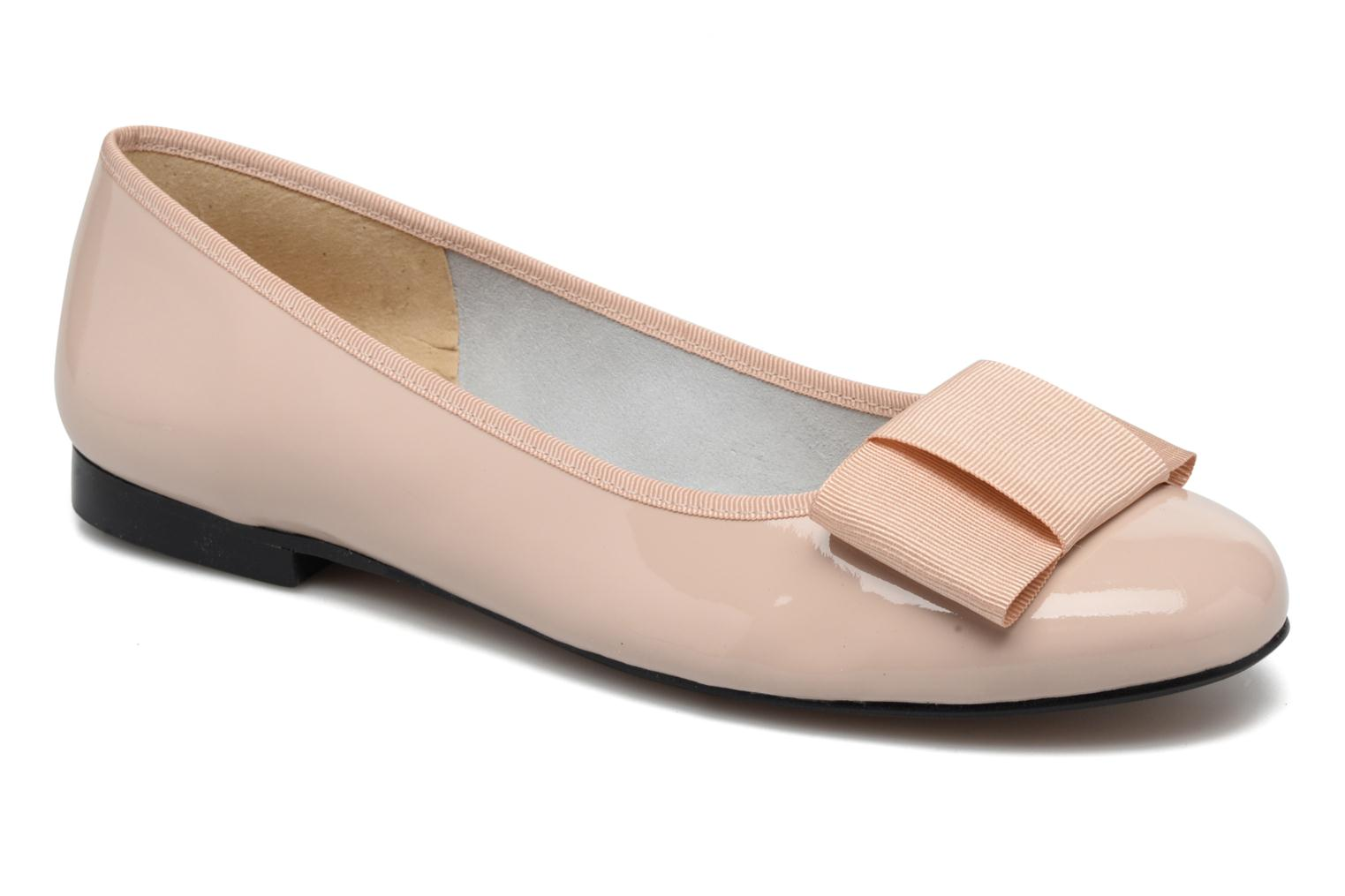 Ballet pumps Georgia Rose Siable Beige detailed view/ Pair view
