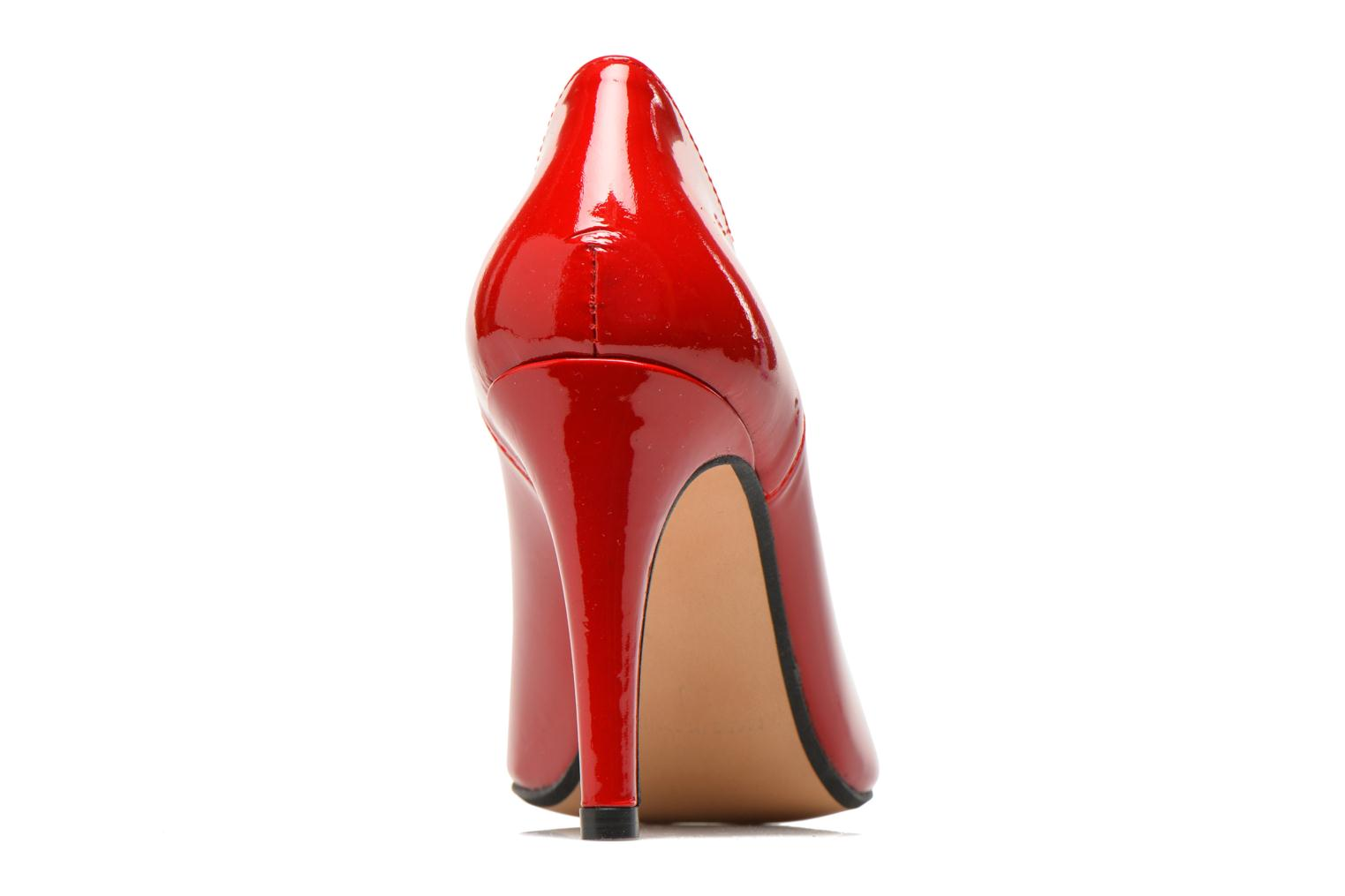 High heels Georgia Rose Safecto Red view from the right