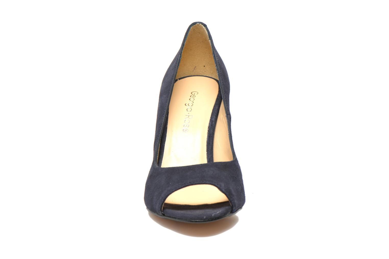 Escarpins Georgia Rose Saverto Bleu vue portées chaussures