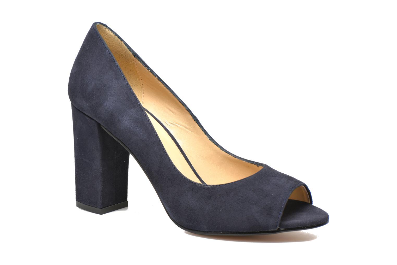 Høje hæle Georgia Rose Saverto Blå detaljeret billede af skoene