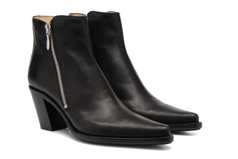 Bottines et boots Free Lance Okao 7 Boot 2 Zip Noir vue 3/4