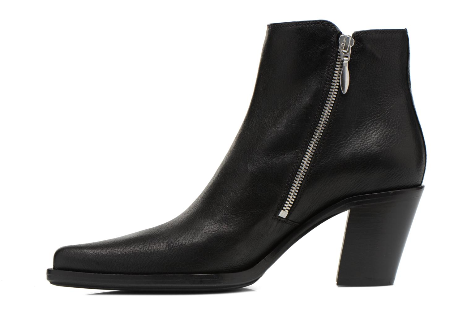 Ankle boots Free Lance Okao 7 Boot 2 Zip Black front view