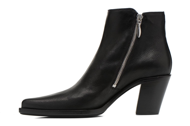 Bottines et boots Free Lance Okao 7 Boot 2 Zip Noir vue face